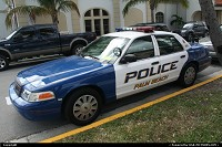 Police car @palm beach