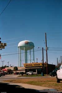 Photo by elki | Panama City  water tank, beach