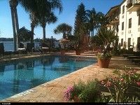 , Sebring, FL, INN ON THE LAKES POOL AND VIEW ON THE LAKE