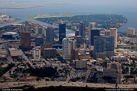Photo by LoneStarMike | Tampa  aerial, skyline,