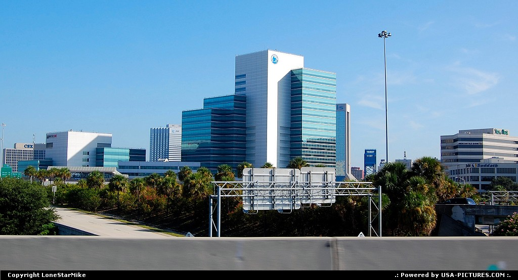 Picture by LoneStarMike:JacksonvilleFloridadowntown, skyline, skyscraper