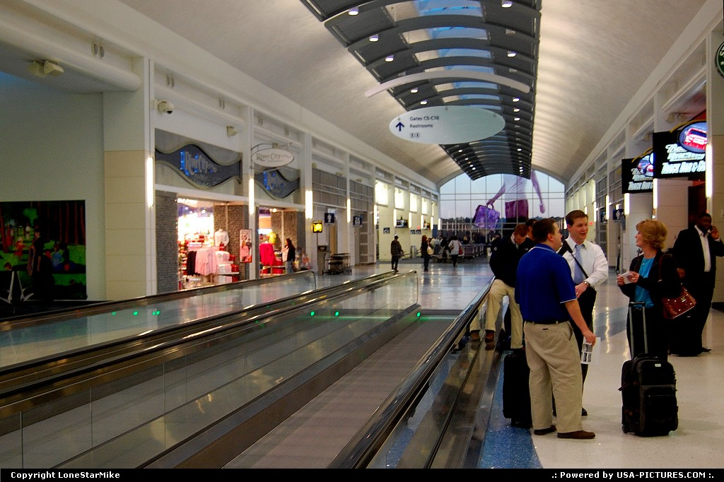 Picture by LoneStarMike:JacksonvilleFloridaairport, terminal, concourse