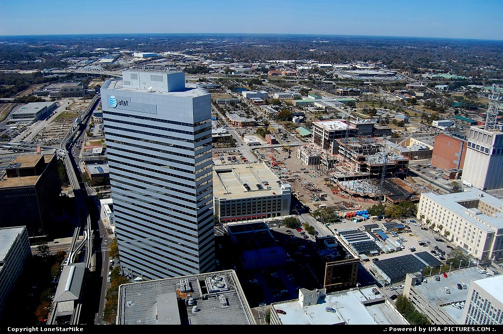 Picture by LoneStarMike: Jacksonville Florida   Skyscraper, observation, dining, lounge, skyline