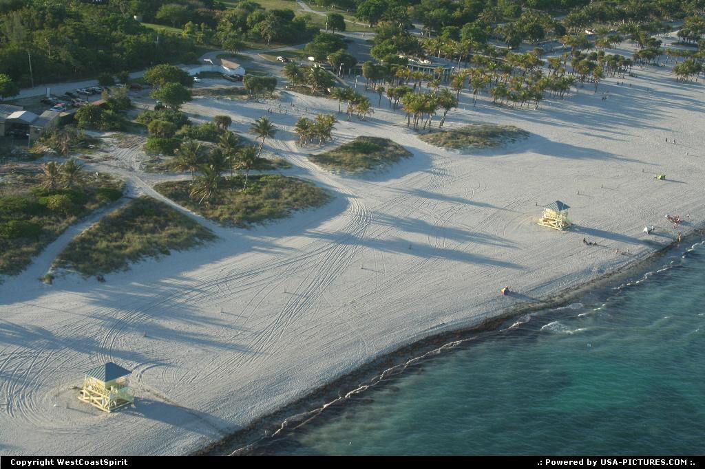 Miami Beach Florida Key Biscayne Beach Miami