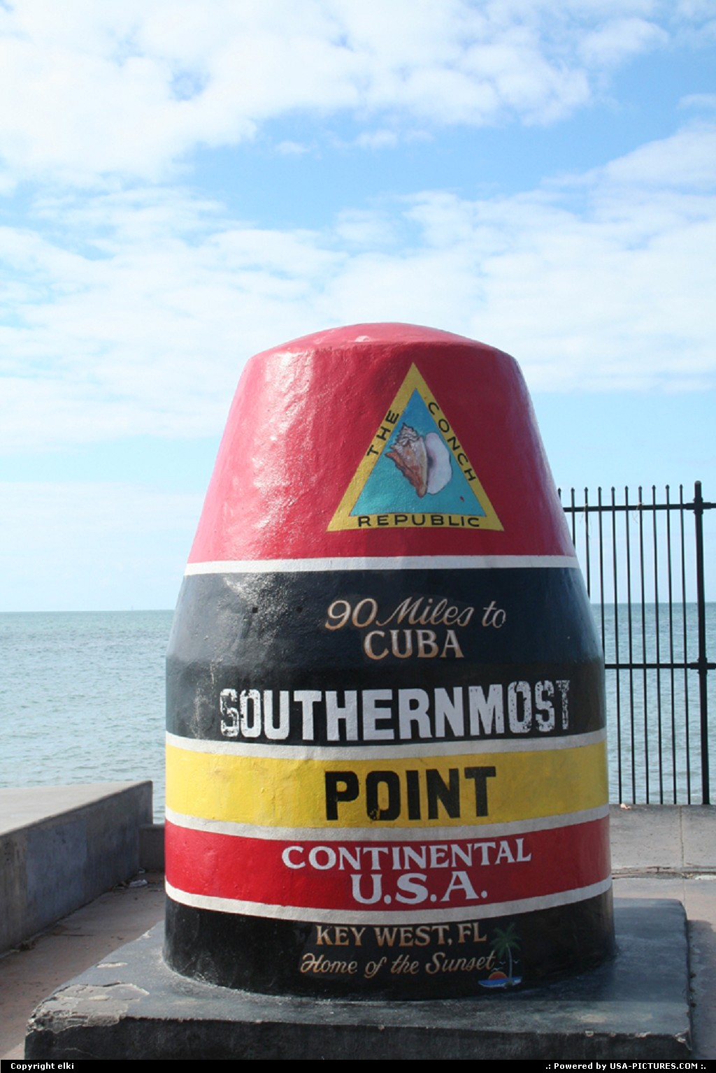 Picture by elki: Key West Florida   the southernmost key west