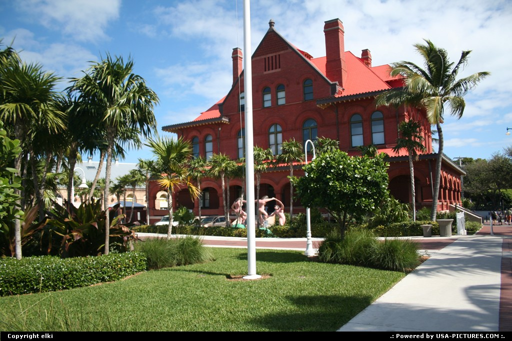 Picture by elki: Key West Florida   museum key west