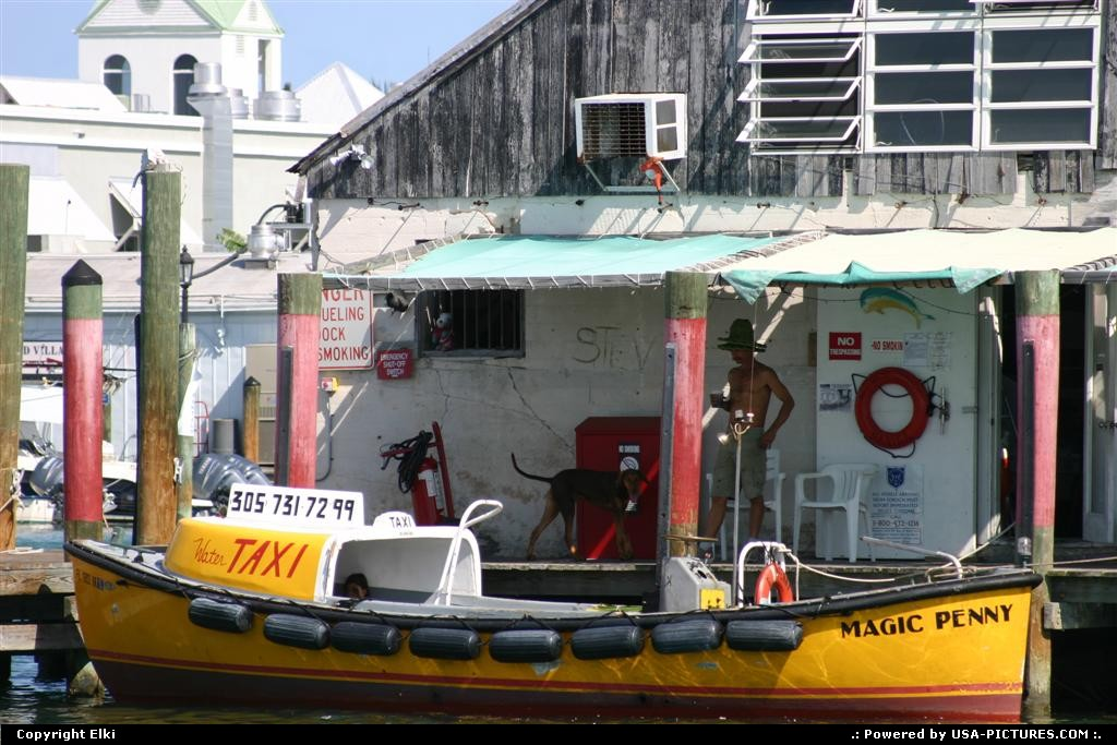 Picture by elki: Key West Florida   water taxi