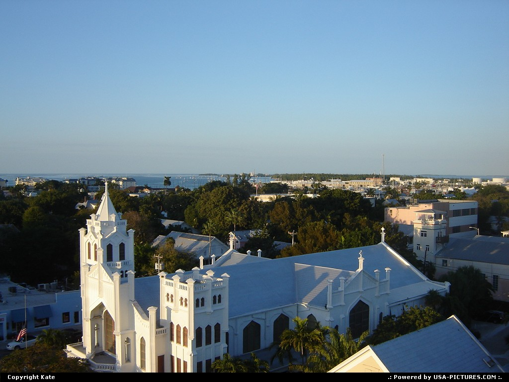 Picture by Kate: Key West Florida   church,