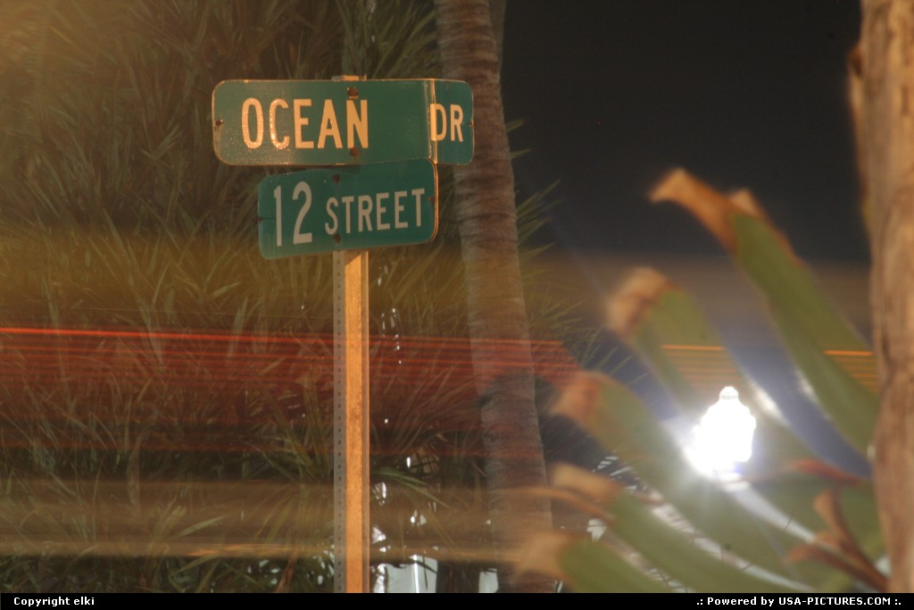 Picture by elki: Miami Beach Florida   Miami beach, ocean drive