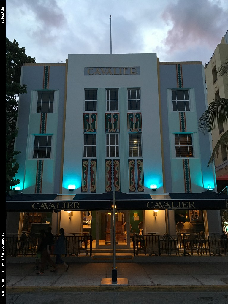 Picture by elki: Miami Beach Florida   Miami Beach, art deco district