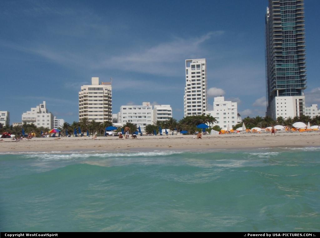 Picture by WestCoastSpirit: Miami Beach Florida   MIA, beach, sea, sun