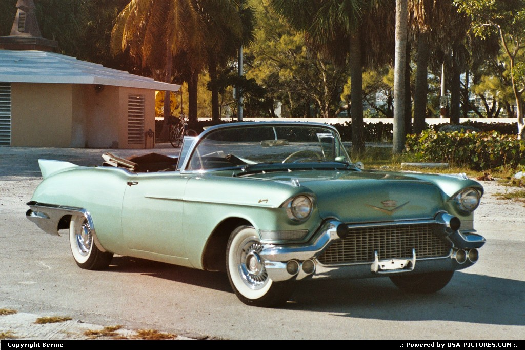 Picture by Bernie: Miami Florida   cadillac, convertible car