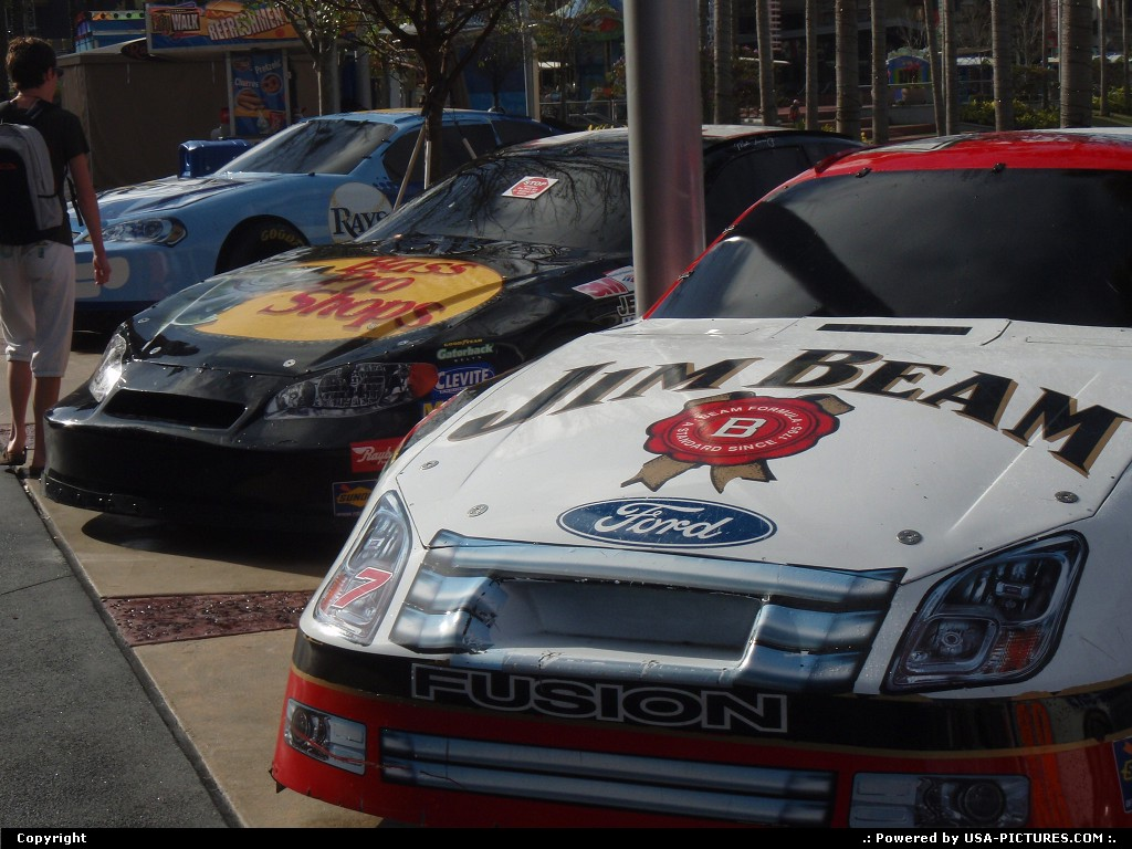 Picture by elki: Orlando Florida   nascar universal