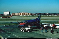 Atlanta : An Atlantic Southeast Airlines brazilian made Embraer EMB120