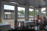 Huey's New Orleans-style restaurant in Savannah's waterfront district.