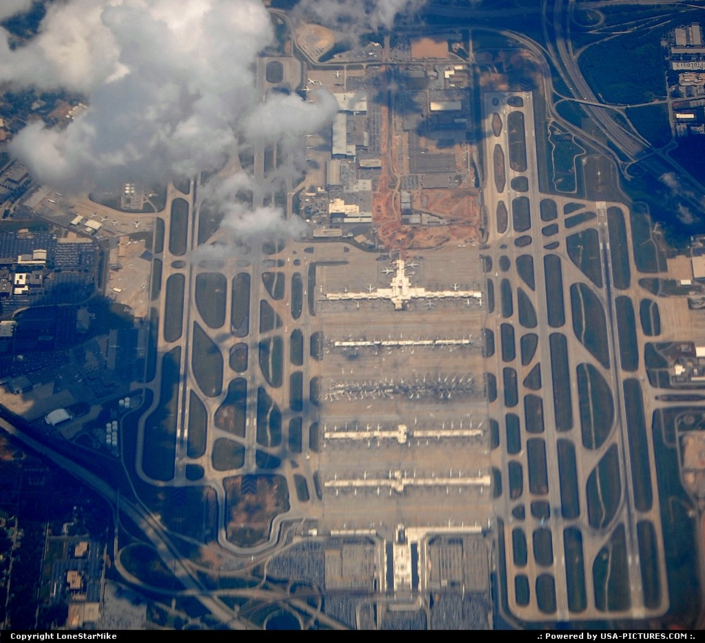 Picture by LoneStarMike: Atlanta Georgia   airport, aerial