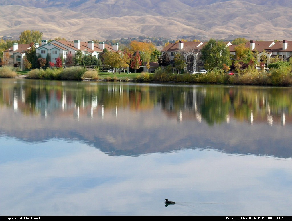 Picture by TheKnock: Boise Idaho   east looking view