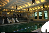 Photo by elki | Chicago  historical building, pool
