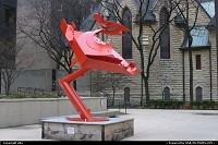 Illinois, Modern art in downtown chicago