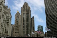 Photo by elki | Chicago  chicago tribune tower