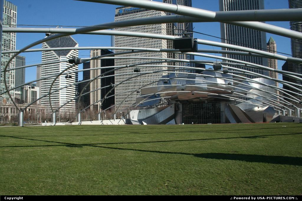 Picture by WestCoastSpirit:ChicagoIllinoiswindy city, cloud gate, silver bean