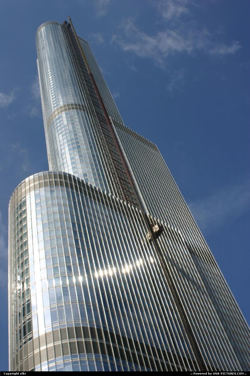 Picture by elki:ChicagoIllinoistrump tower chicago