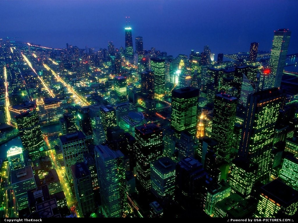 Picture by TheKnock: Chicago Illinois   chicago 'sky view'