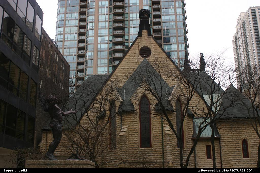 Picture by elki:ChicagoIllinoischicago church