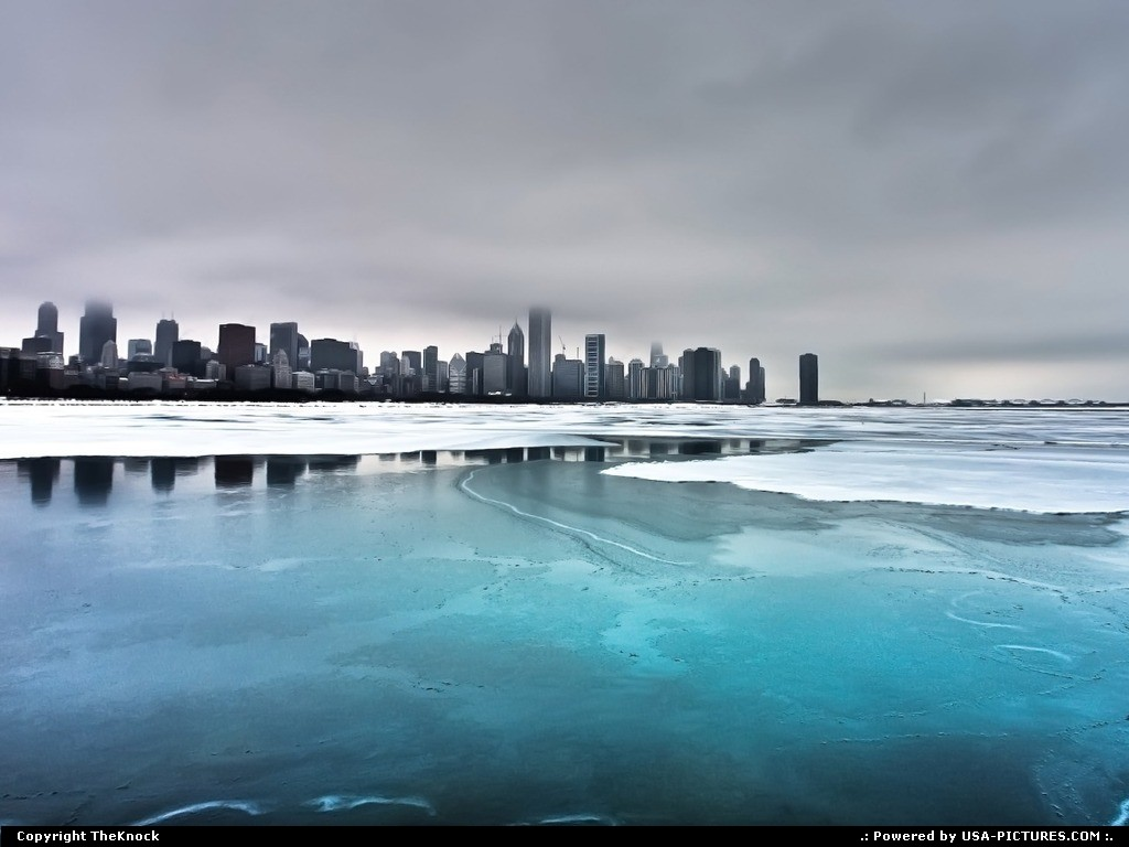 Picture by TheKnock:ChicagoIllinoisChicago winter