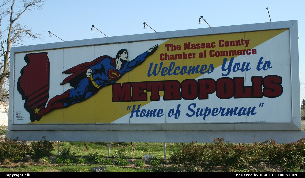 Picture by elki: Metropolis Illinois   metropolis superman