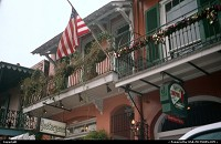 Louisiana, The French Quarter in New Orleans