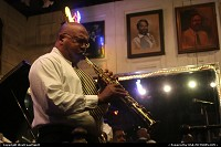 Dwayne Burns and his New Orleans Band, performing really nice live Jazz at Maison Bourbon Club, on Bourbon Street righ in the French Quarter. Nice!
