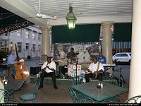 Louisiana, Jazz band in a restaurant