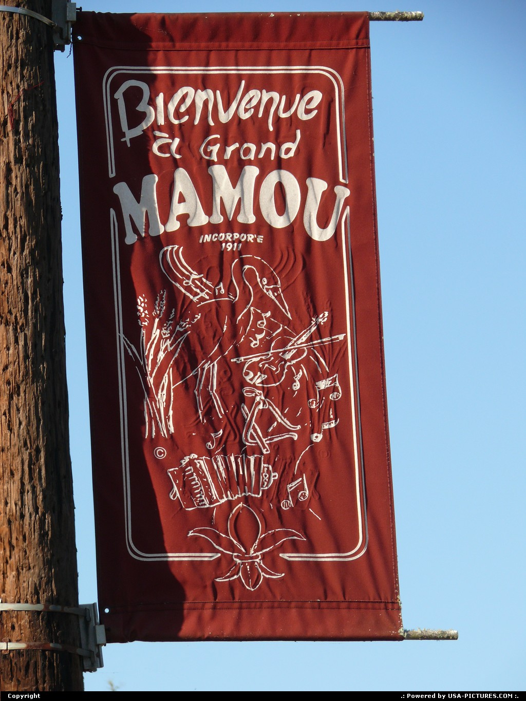 Picture by Bernie: Mamou Louisiana