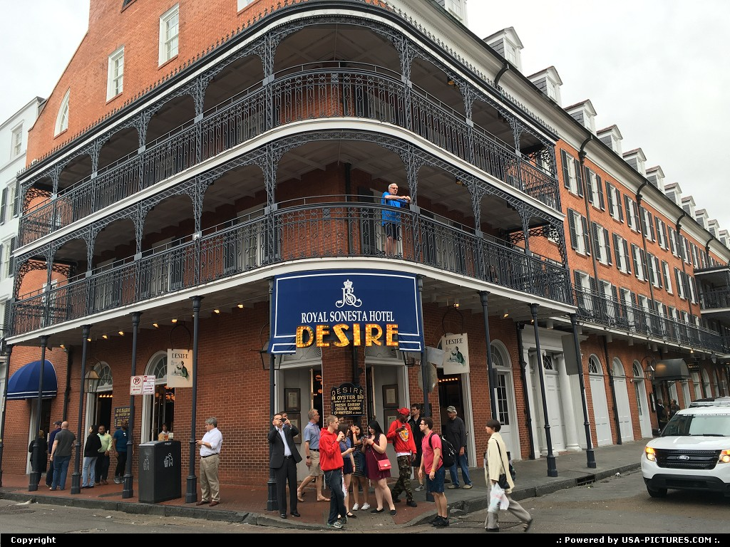 Picture by elki: New Orleans Louisiana   New orleans french quarter