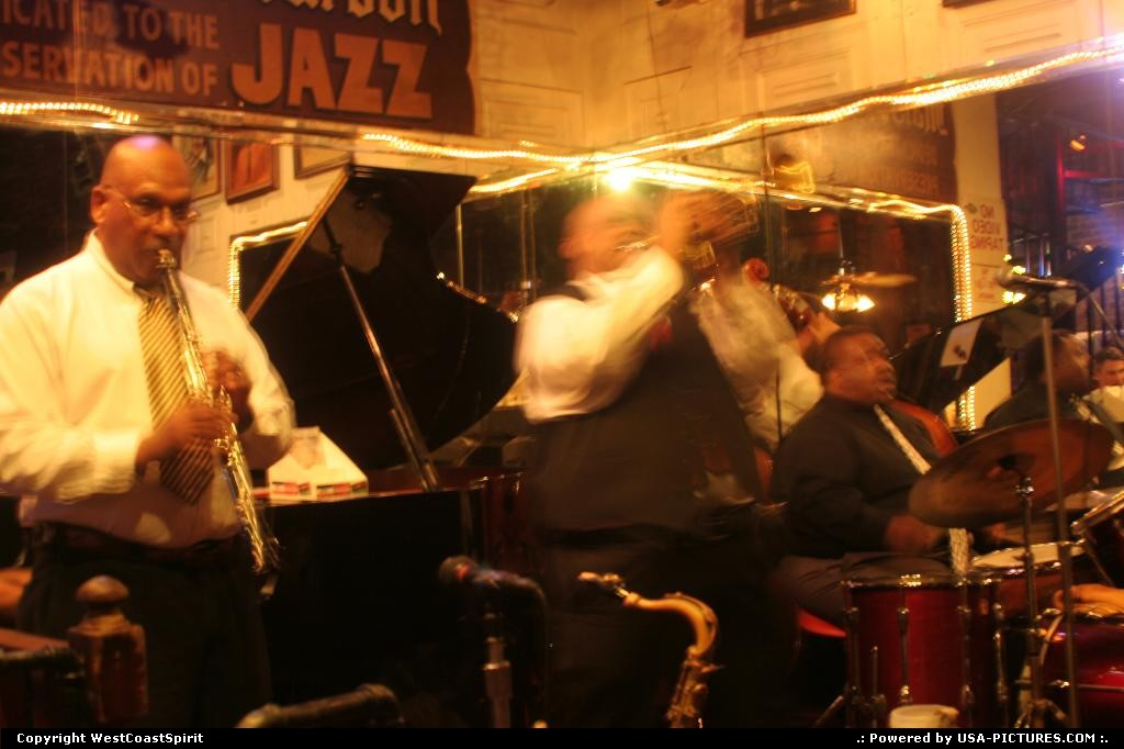Picture by WestCoastSpirit: New Orleans Louisiana   jazz, music, bar, live