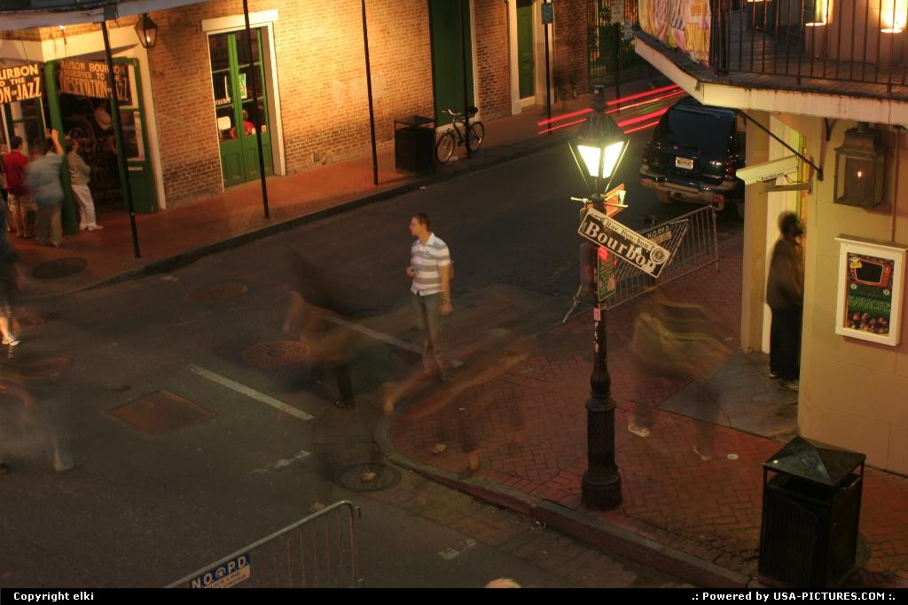Picture by elki: New Orleans Louisiana   new orleans bourbon street
