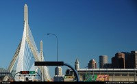 Photo by elki | Boston  zakim bridge boston