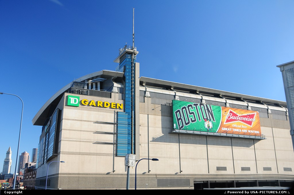 Picture by elki: Boston Massachusetts   boston, td garden