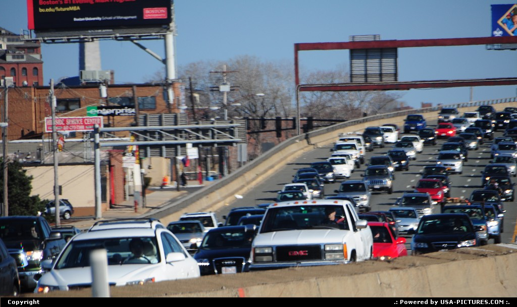 Picture by elki:BostonMassachusettsboston commuters