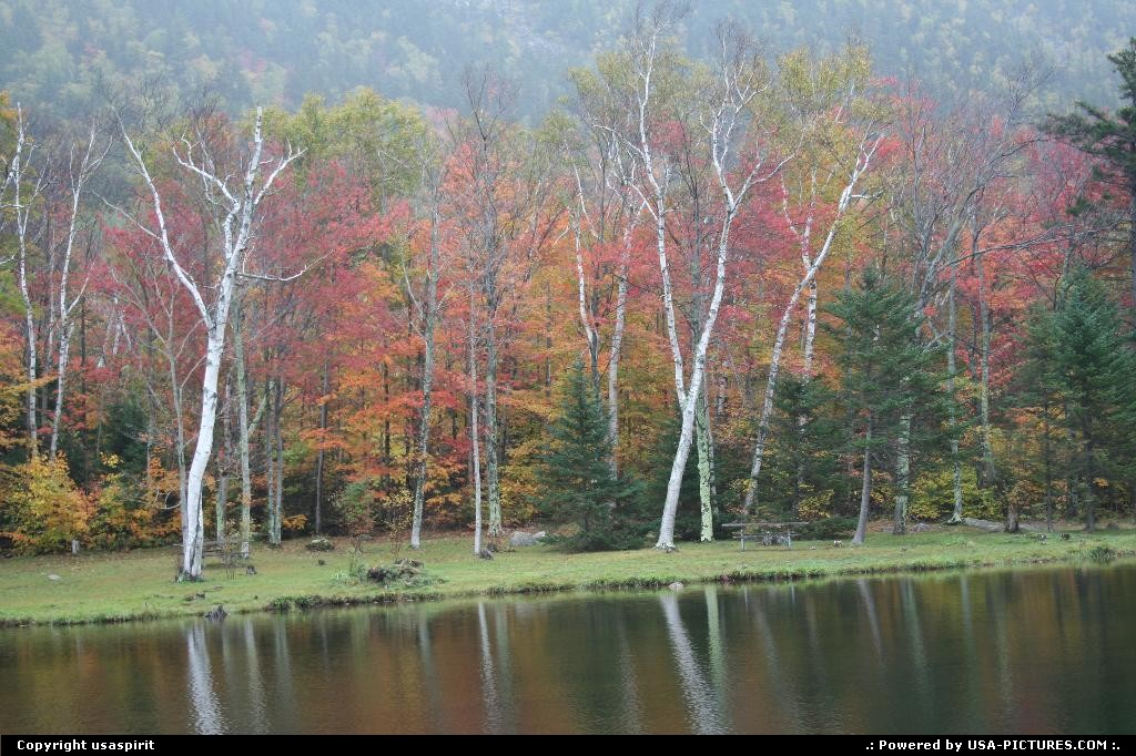 Picture by usaspirit: Not in a city New-Hampshire   fall colors maine