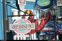 Photo by elki | Bar Harbor  bar harbor lobster sign