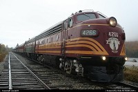 Not in a city : conway scenic train. Boston and maine railroad