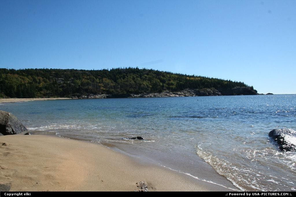 Picture by elki:MaineAcadiaAcadia national park