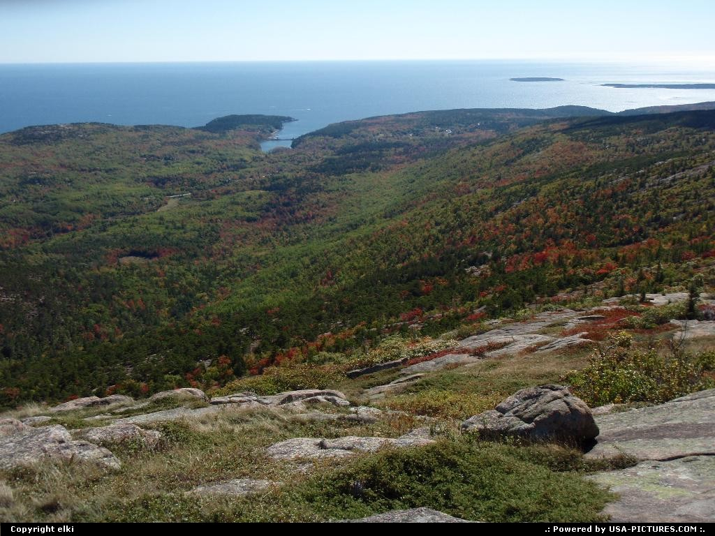 Picture by elki:  Maine Acadia  Acadia national park