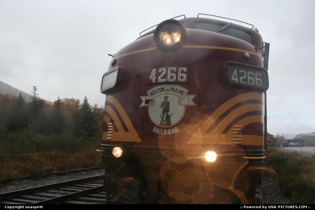 Picture by usaspirit:Not in a cityNew-Hampshireconway scenic train
