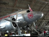 The vintage and venerable DC3 undergoing restoration at the Airline History Museum at Kansas City. This is my tribute to all former TWA employees. You HAVE to visit this great place while in Kansas City!