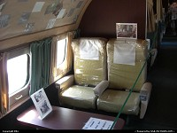 Missouri, Those were the days in First Class. Check the spotless cabin of the Connie at the Airline History Museum at Kansas City. Big up for all this amazing conservation by the organization!