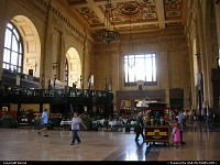 Missouri, Huge and beautiful, Union Station still works daily as a station