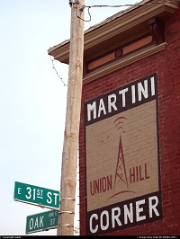 Missouri, Martini Corner @ 31st and Oak. Kansas City, MO